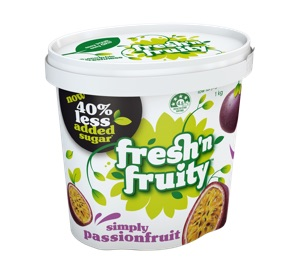 Fresh'n Fruity Simply Passionfruit 1kg
