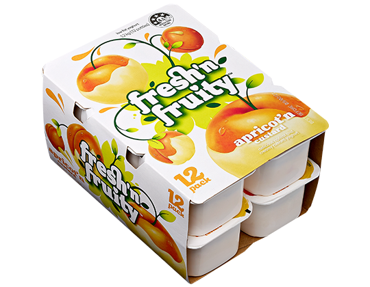 Fresh'n Fruity Apricot'n Custard 12 pack