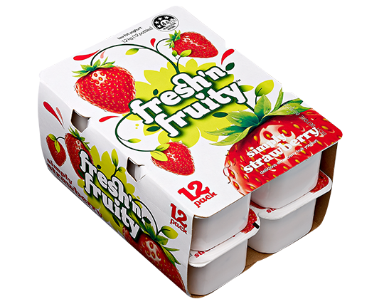 Fresh'n Fruity Simply Strawberry 12 pack