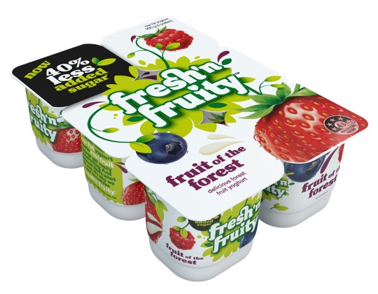 Fresh'n Fruity Fruits of the Forest 6 pack