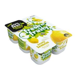 Fresh'n Fruity Zesty Lemon 6 pack
